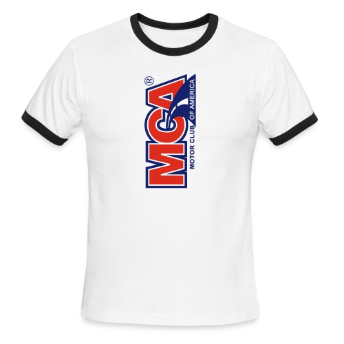 MCA Logo Iphone png - Men's Ringer T-Shirt