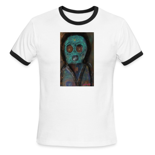 The galactic space monkey - Men's Ringer T-Shirt