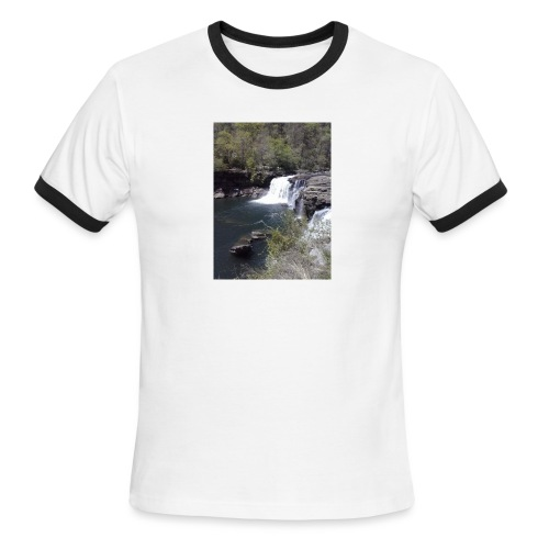 LRC waterfall - Men's Ringer T-Shirt