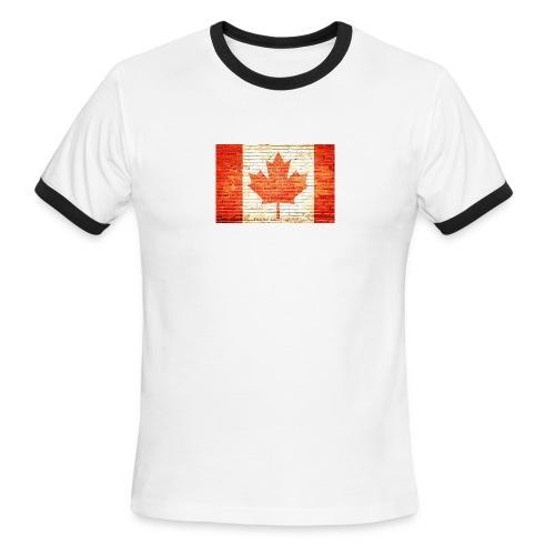 Canada flag - Men's Ringer T-Shirt