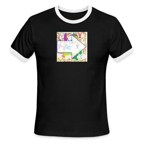 shapes - Men's Ringer T-Shirt