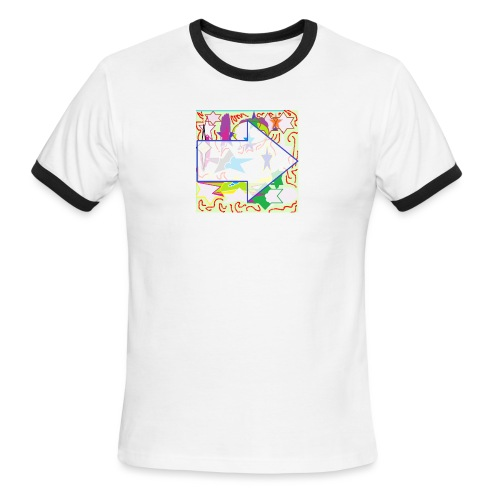 shapes - Men's Ringer T-Shirt