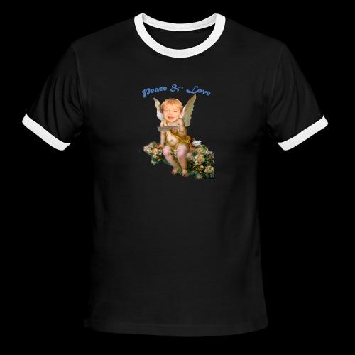 Peace and Love - Men's Ringer T-Shirt