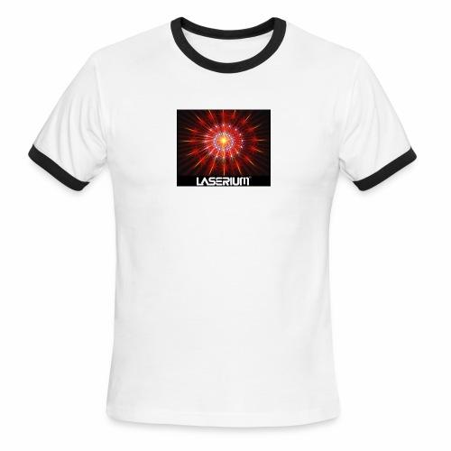 LASERIUM Laser starburst - Men's Ringer T-Shirt