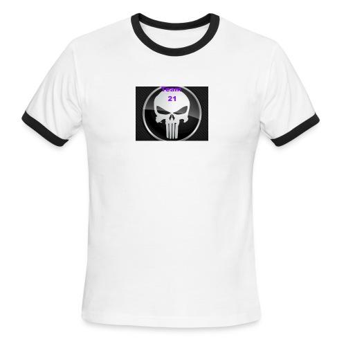Team 21 white - Men's Ringer T-Shirt