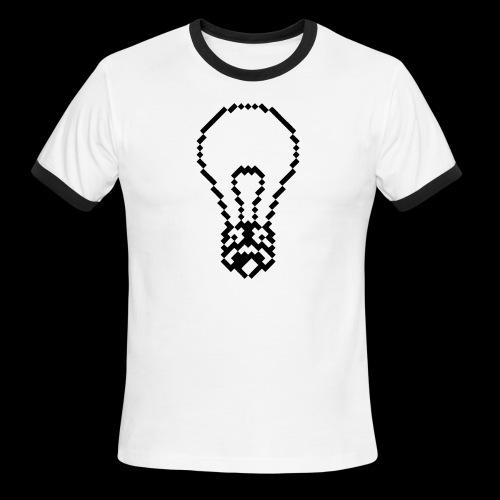 lightbulb by bmx3r - Men's Ringer T-Shirt