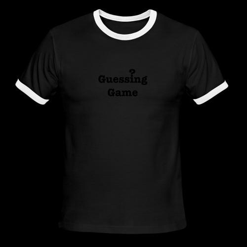 Question - Men's Ringer T-Shirt