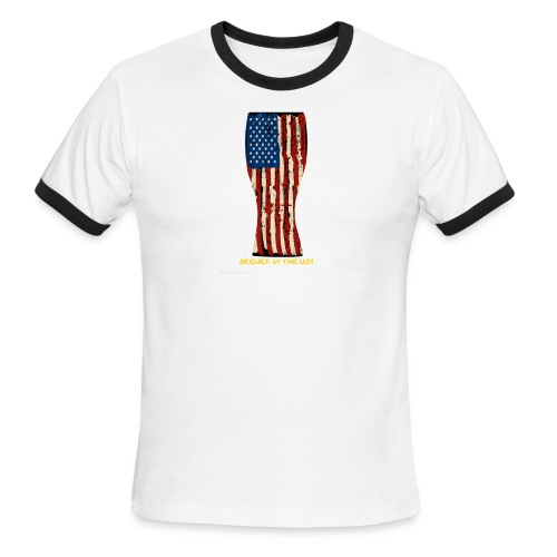 Brewed In The USA - Men's Ringer T-Shirt