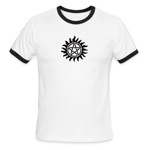 Supernatural Tattoo - Men's Ringer T-Shirt
