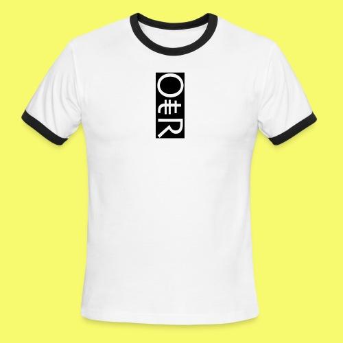 OntheReal coal - Men's Ringer T-Shirt