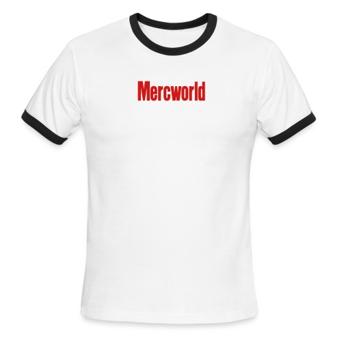 mercworld - Men's Ringer T-Shirt