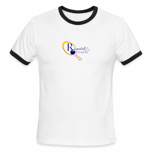 Racquetball Ontario branded products - Men's Ringer T-Shirt