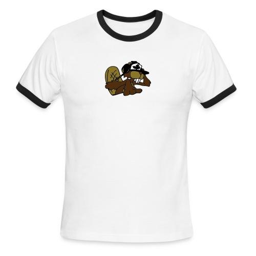 Beaver DJ - Men's Ringer T-Shirt