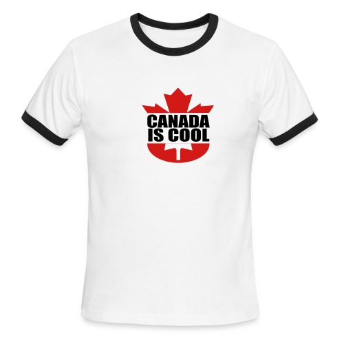 Canada is Cool - Men's Ringer T-Shirt