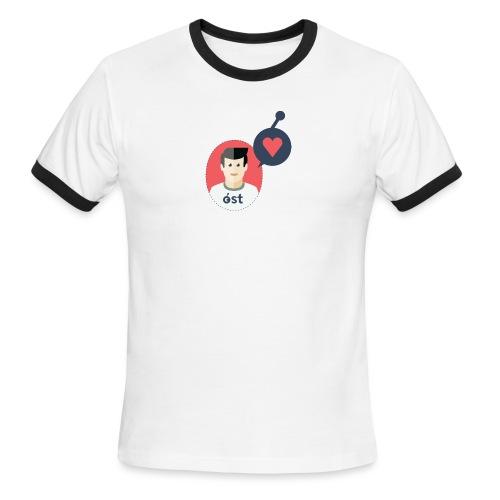 the OSTonian - Men's Ringer T-Shirt