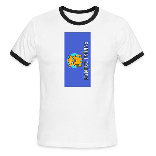 logo iphone5 - Men's Ringer T-Shirt