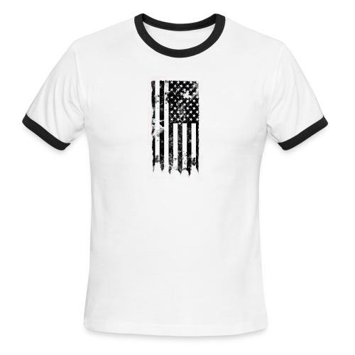 we the people no txt.png - Men's Ringer T-Shirt