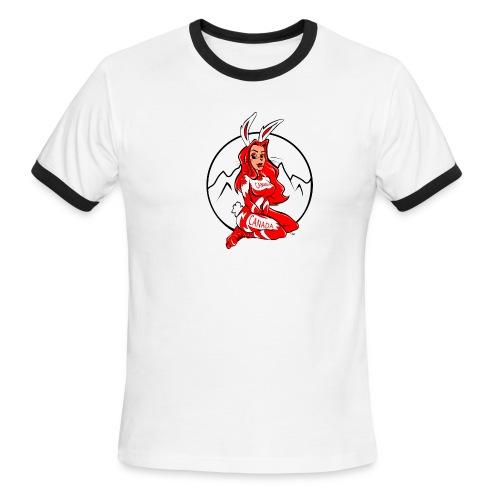 Ski Bunny - Men's Ringer T-Shirt
