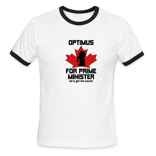 Optimus for PM! - Men's Ringer T-Shirt