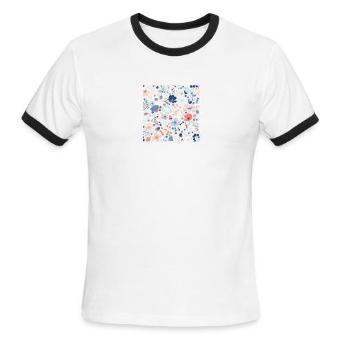flowers - Men's Ringer T-Shirt