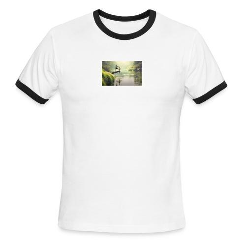 fishing - Men's Ringer T-Shirt