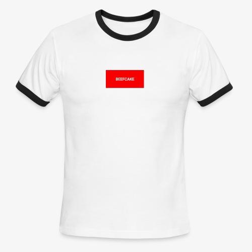 Beefcake supreme - Men's Ringer T-Shirt