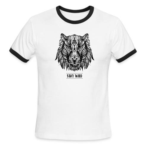 Stay Wild - Men's Ringer T-Shirt