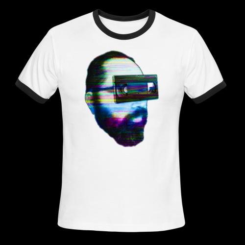 Spaceboy Music - Glitched - Men's Ringer T-Shirt