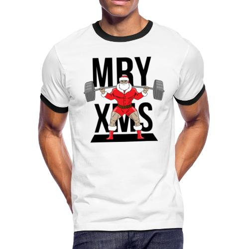 Santa lifts - Men's Ringer T-Shirt