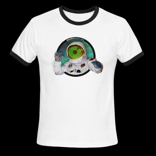 Spaceboy Music Logo - Men's Ringer T-Shirt