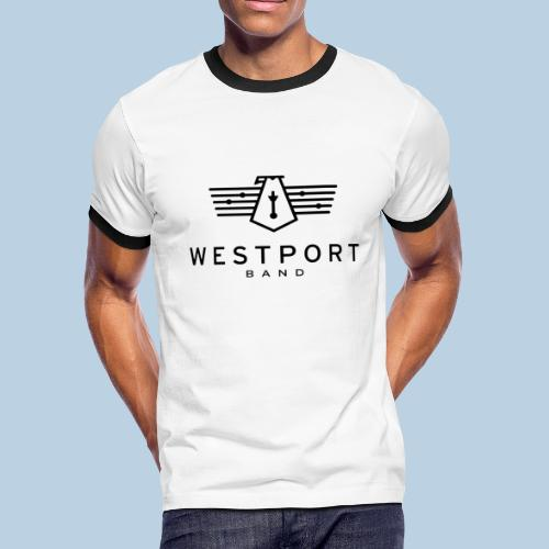Westport Band Back on transparent - Men's Ringer T-Shirt