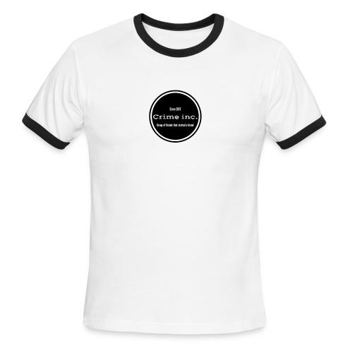 Crime Inc Small Design - Men's Ringer T-Shirt