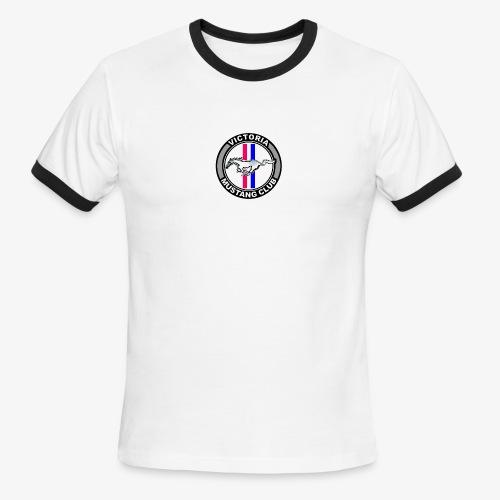 Victoria Mustang Club Logo - Men's Ringer T-Shirt