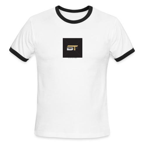 BT logo golden - Men's Ringer T-Shirt