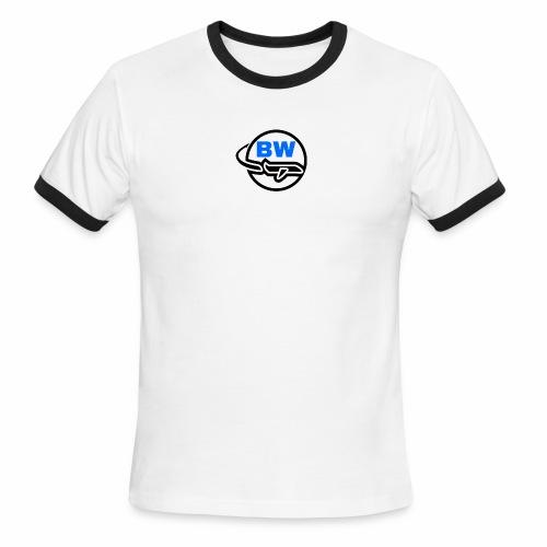 BW Logo - Men's Ringer T-Shirt