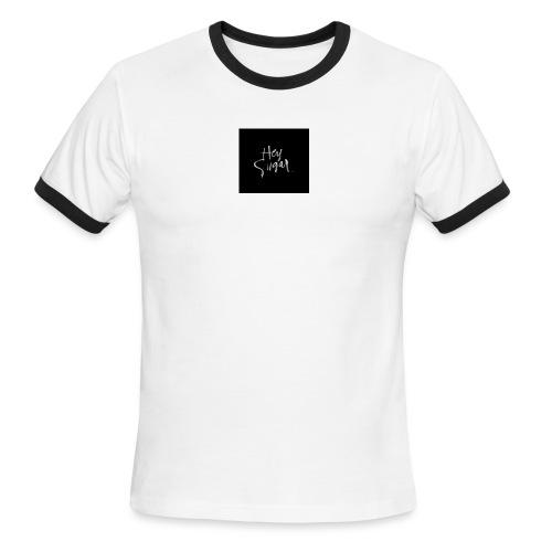 Hey Sügar. By Alüong Mangar - Men's Ringer T-Shirt
