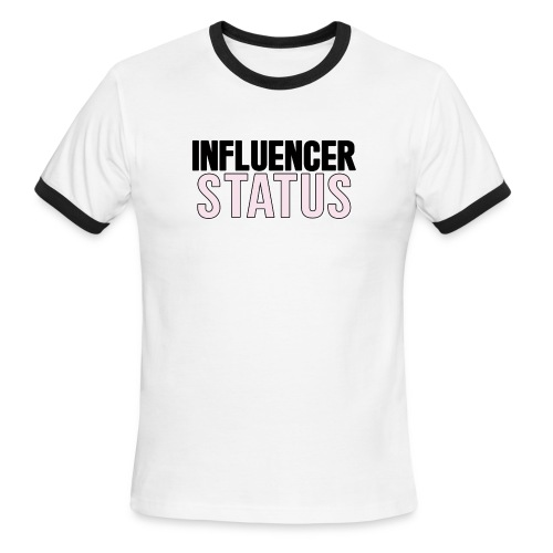 Are you an influencer!? - Men's Ringer T-Shirt