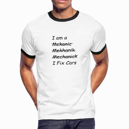 I Fix Cars - Men's Ringer T-Shirt