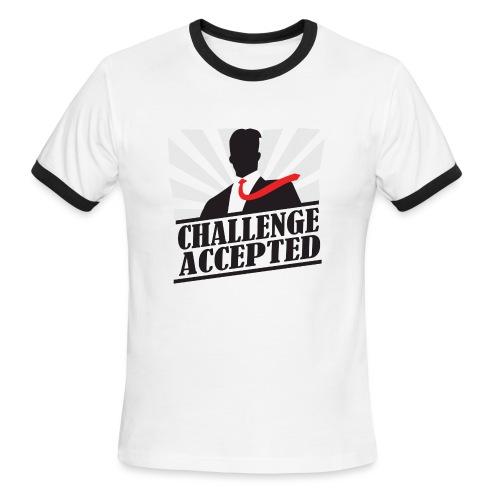 Challenge Accepted - Men's Ringer T-Shirt