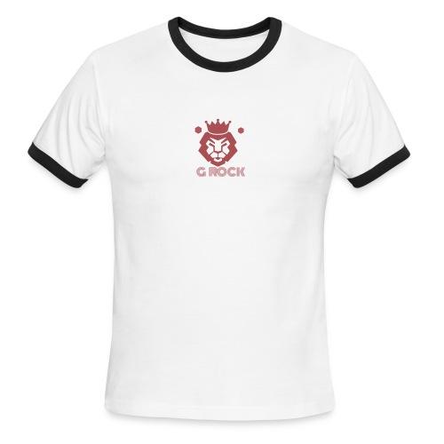 lion faced - Men's Ringer T-Shirt