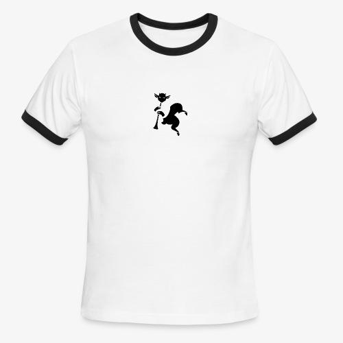 imagika black - Men's Ringer T-Shirt