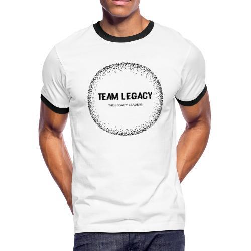Black logo no background - Men's Ringer T-Shirt