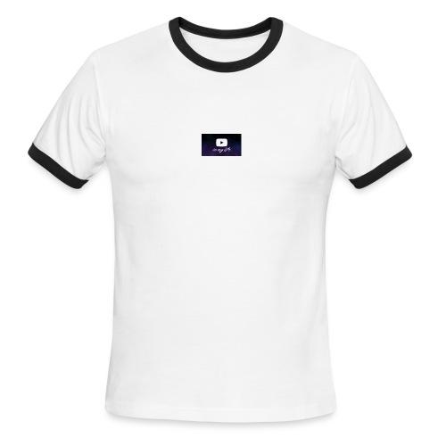 my life is youtube poster - Men's Ringer T-Shirt