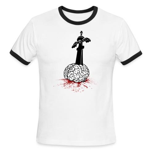 Sword in Brain - Men's Ringer T-Shirt