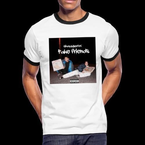 FAKE FRIENDS ALBUM TEE - Men's Ringer T-Shirt