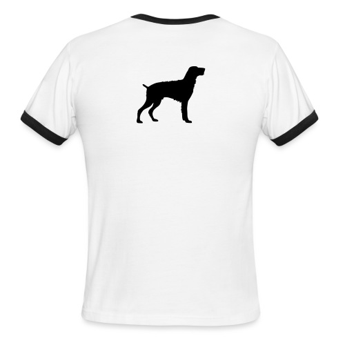 German Wirehaired Pointer - Men's Ringer T-Shirt