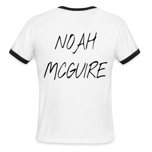 Noah McGuire Merch - Men's Ringer T-Shirt