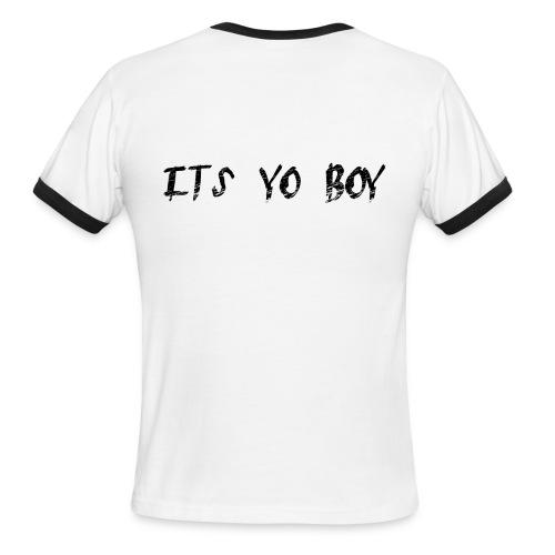 yo boy - Men's Ringer T-Shirt