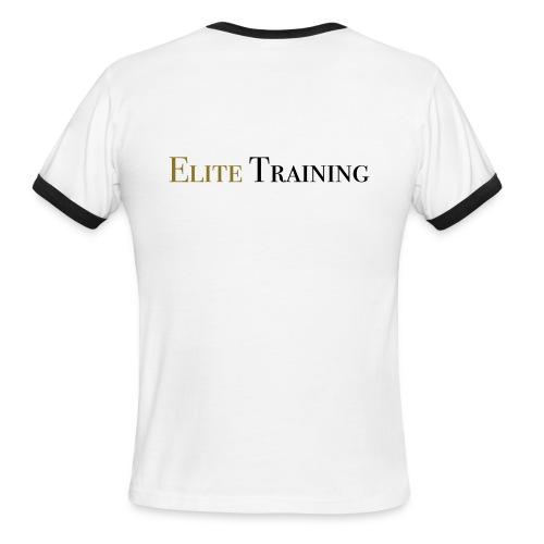 Elite Training 3 - Men's Ringer T-Shirt