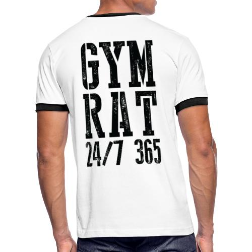 Gym Rat - Men's Ringer T-Shirt